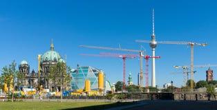 Wiederherstellung zerstört im Zweiten Weltkrieg Berlin City Palace Stockbilder