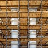 Wiederherstellungsarbeiten, Valletta Malta Lizenzfreies Stockfoto