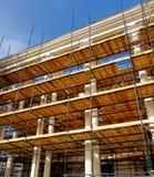 Wiederherstellungsarbeiten, Valletta Malta Lizenzfreie Stockfotos