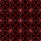 Wiederholen der geometrischen abstrakten Blume Lizenzfreie Stockbilder