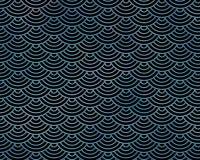 Wiederholen des spielerischen Meerjungfrau-Fischschuppe-Musters Lizenzfreie Stockbilder