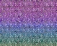 Wiederholen des spielerischen Meerjungfrau-Fischschuppe-Musters Stockbild