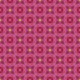 Wiederholen Sie nahtlos Musterfliese mit gelben Punkten von Leuchte (2) lizenzfreie abbildung