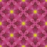 Wiederholen Sie nahtlos Musterfliese mit gelben Punkten von Leuchte (3) stock abbildung