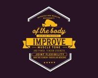 Wiederholte und regelmäßige Bewegungen des Körpers während der Gebete verbessern Muskeltonus und Energie lizenzfreie abbildung