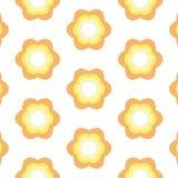 Wiederholter Blumen-Hintergrund Lizenzfreies Stockfoto