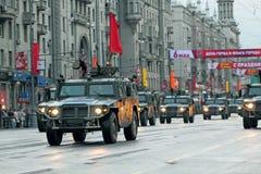 Wiederholung der Parade eines Sieges Lizenzfreie Stockfotografie