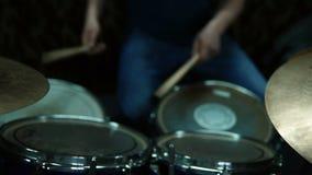 Wiederholung der Rockmusikband stock video footage