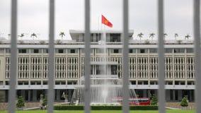 Wiedervereinigungspalast in Ho Chi Minh stock video footage