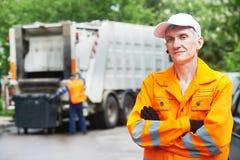 Wiederverwertung des Abfalls und des Abfalls Stockbild