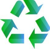 Wiederverwertung des eco Symbols Lizenzfreie Stockbilder