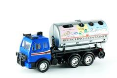 Wiederverwertung des LKW-Spielzeugs lizenzfreie stockbilder