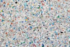 Wiederverwertung des Plastiks Stockfoto