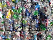 Wiederverwertung des Plastiks Lizenzfreies Stockfoto