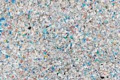 Wiederverwertung des Plastikschmutz-Hintergrundes stockbild