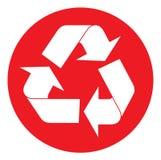 Wiederverwertung des Symbols Lizenzfreie Stockbilder