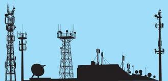 wieże Zdjęcie Royalty Free