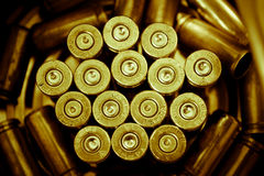 Wieg van bewapening Stock Foto