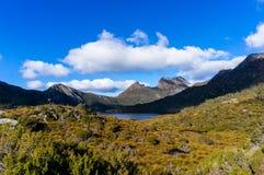 Wiegberg en Duifmeer Tasmanige, Australië royalty-vrije stock afbeelding