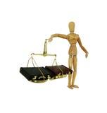 Wiegen von Geschäftsentscheidungen Lizenzfreies Stockbild