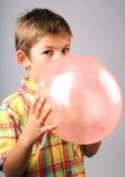 wiejący balonowy Obrazy Stock