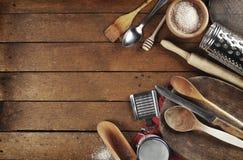Wiejscy kuchenni naczynia Obraz Royalty Free