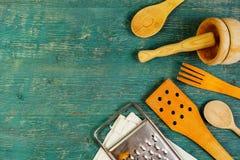 Wiejscy kuchenni naczynia Obrazy Stock