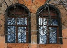 wiejscy okno Zdjęcie Stock