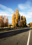 Wiejska autostrada Zdjęcie Stock