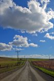 wiejska droga Obraz Royalty Free