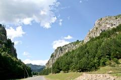 Wiejska Droga, Rumunia Zdjęcie Stock