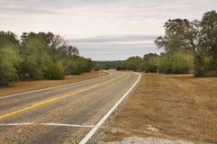 wiejska droga Texas Obraz Royalty Free