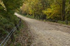 Wiejska Droga W jesieni Zdjęcie Stock