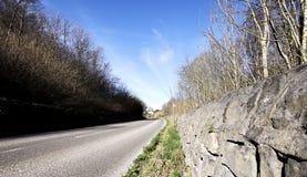 Wiejska droga w Szczytowym Gromadzkim parku narodowym Obrazy Stock