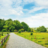 wiejska krajobrazowa natura Obrazy Stock