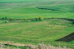 wiejska krajobrazu Obrazy Royalty Free
