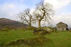Wiejska starego kraju stajnia. Obraz Royalty Free