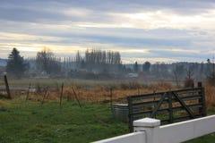 Wiejska wieś w usa Zdjęcia Royalty Free