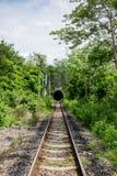 Wiejski dworzec w somwhere Tajlandia Zdjęcia Stock