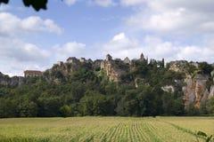 Wiejski Francja udział, Calvignac fotografia royalty free