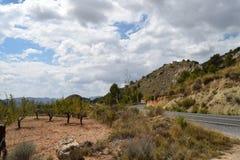 Wiejski hiszpańszczyzna krajobraz Obrazy Royalty Free