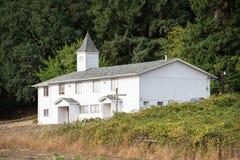 Wiejski kościelny budynek w Oregon zdjęcia stock