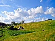 Wiejski krajobraz Obrazy Royalty Free