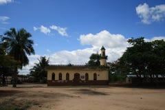 Wiejski meczet w Ghana Obraz Royalty Free