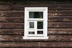 Wiejski okno Zdjęcie Stock