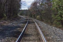 Wiejski pociąg tropi 3b fotografia stock