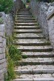 Wiejski sceniczny: wioska kroki Obraz Royalty Free