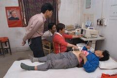 Wiejski szpital Fotografia Stock