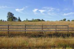 Wiejskie Wizualne granicy Obrazy Royalty Free