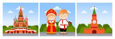 16 wieków fortecznego izborsk średniowieczny Russia th target421_0_ ilustracja wektor